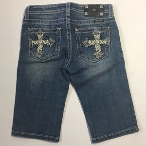 Miss Me • Girls Sz 14 • Bermuda Shorts